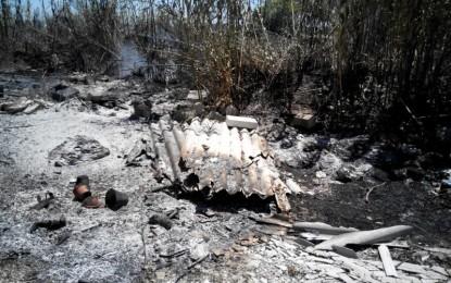 Due incendi sabato scorso nella zona di Veglie, eternit e boschi in fiamme