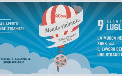 """Giovedì 9 luglio parte """"Mondo Animato"""" e la mongolfiera del Rubik si ferma subito in Croazia. Alle 21 prende il via la rassegna d'animazione all'aperto del circolo ARCI guagnanese"""