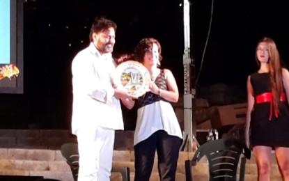 """All'amico di Guagnano Informa Fulvio Palese il premio """"Terre d'Oltremare"""" Il jazzista salentino è stato premiato lo scorso 21 agosto nella suggestiva cornice dalla Scalinata Monumentale di Leuca."""