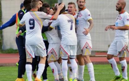 US Lecce, i salentini vincono a Melfi con un gol di Lepore e si rimettono in corsa