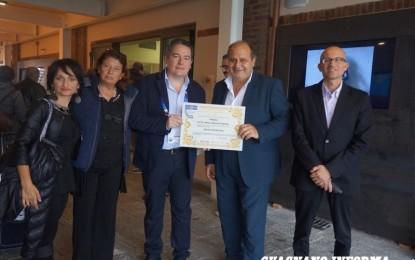 """Il Comune di Salice Salentino vince il premio """"Città degli Antichi Sapori EXPO2015"""""""
