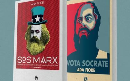 """Domenica sera un incontro con Ada Fiore al Rubik di Guagnano. Presenterà """"Sos Marx"""" e """"Vota Socrate"""""""