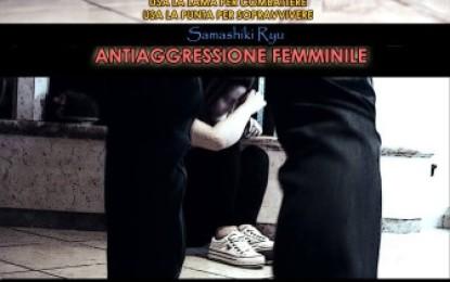 """Progetto """"Non Toccarmi"""", riprendono a Veglie le lezioni gratuite di antiaggressione femminile della Scuola di Arti Marziali e Difesa Personale """"Samashiki Ryu"""""""