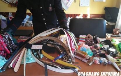 Merce contraffatta, nei guai una commerciante cinese di un esercizio di Veglie. I Carabinieri gli sequestrano 332 prodotti