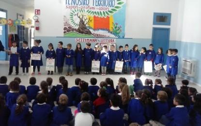 """Anche a Guagnano si sostiene la lettura ad alta voce. Le iniziative di """"Libriamoci"""" tra gli alunni di via Duca D'Aosta"""