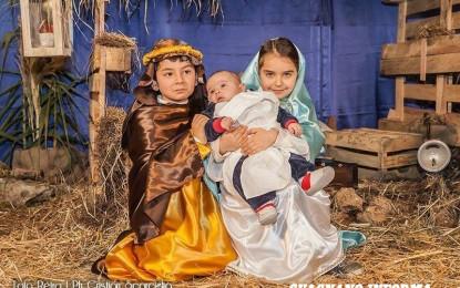 """""""Natale d'altri tempi"""", stasera il presepe vivente interpretato dai bimbi della scuola di via Padova"""