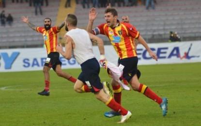 US Lecce, Curiale regala la vittoria ai giallorossi. Contro il Benevento termina 2 a 1