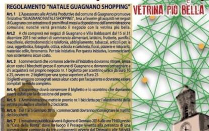 """""""Guagnano Natale Shopping"""", torna l'iniziativa per spingere ad acquistare in paese. Il consigliere Monte: «Un modo per favorire la crescita del territorio»"""