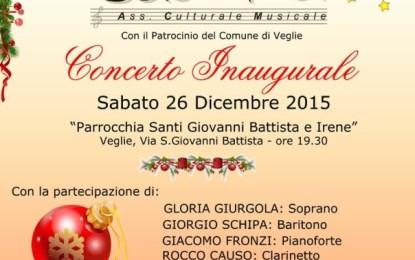 """Sabato 26 dicembre a Veglie il concerto inaugurale dell'Associazione """"Cadenza"""", musica sacra e natalizia nella suggestiva cornice della Chiesa Matrice"""