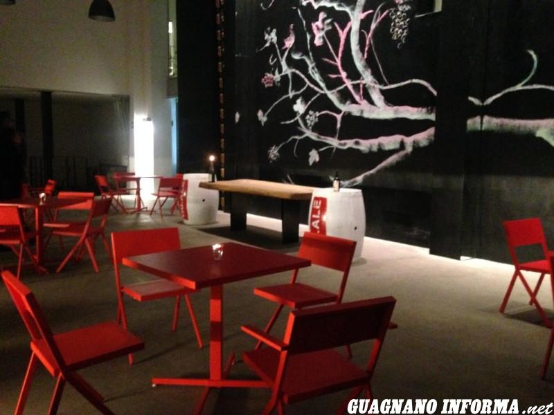 La sala Pignatelli della Cantina Moros di Guagnano