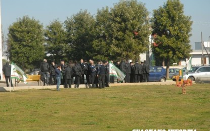 """""""La Velialpol"""" in difficoltà, scatta la protesta dei dipendenti dell'istituto di vigilanza vegliese"""