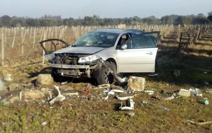 """Finisce fuori strada ad un curva tra Guagnano e San Pancrazio, 34enne in Rianimazione al """"Vito Fazzi"""""""