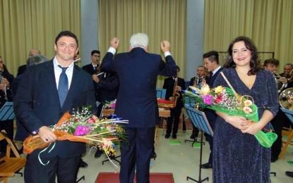 """Grande successo domenica scorsa a Veglie per """"Fantasia di suoni"""", il concerto lirico sinfonico della Banda di Veglie """"A. Reino"""""""