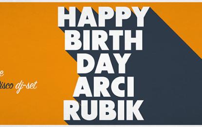 Buon compleanno Rubik! L'ARCI di Guagnano compie cinque anni: il 23 gennaio si festeggia con Inude e San Francisco Disco Il circolo è un vero e proprio anello di congiunzione fra le generazioni nate dalla fine degli anni '70 e quelle successive. Dal 2010 ottiene risultati incredibili.