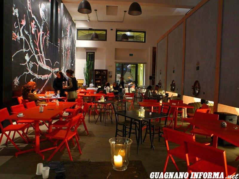 La sala Pignatelli di Cantina Moros dove si svolgono gli aperitivi