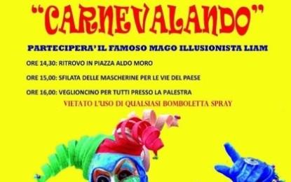 """""""Carnevalando"""", anche a Villa Baldassarri si festeggia il carnevale in piazza. L'appuntamento è domenica pomeriggio"""