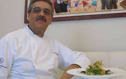 """Domenica al """"President"""" di Lecce va in scena il buffet di San Valentino dello chef salicese Mimino Simmini"""