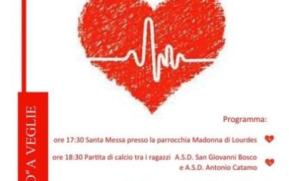 """""""Sport Sicuro"""",  il 25 febbraio l'associazione vegliese """"Gli amici di Luka"""" dona due defibrillatori alle Associazioni Sportive"""