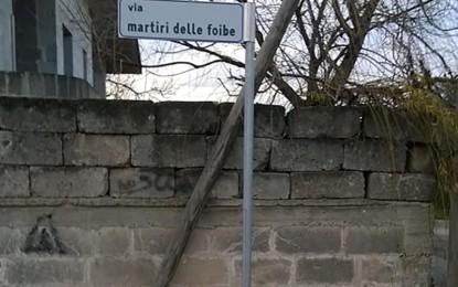 CasaPound installa a Veglie una targa per i Martiri delle Foibe