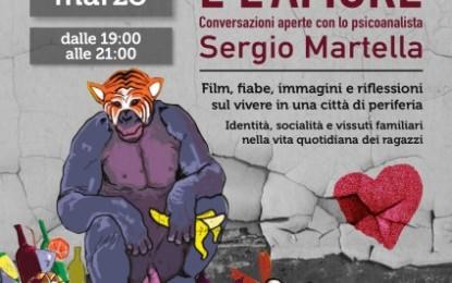 """""""La rabbia, il rifiuto e l'amore"""", il Laboratorio Urbano di Veglie organizza le """"conversazioni aperte"""" con lo psicoanalista Sergio Martella"""