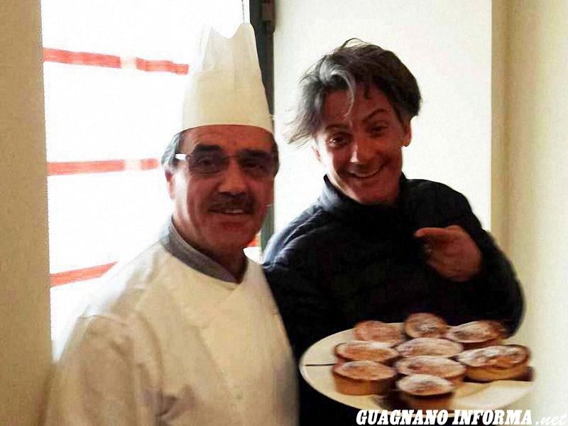 Lo chef Mimino Simmini con Fiorello
