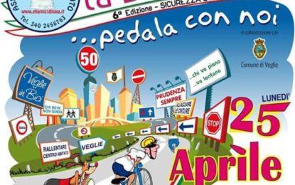 Il 25 aprile a Veglie la sesta edizione della biciclettata per la sicurezza stradale