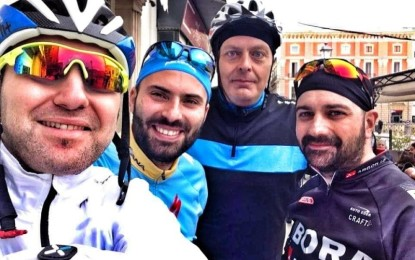 Anche un salicese con i Friends' Bike Brindisi per il Tour Adriatico-Tirreno