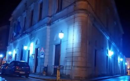 Anche il Municipio di Salice si tinge di blu in occasione della Giornata Mondiale dell'Autismo
