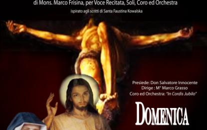 """Domani sera nella Chiesa Madre di Guagnano l'Oratorio Sacro """"Confido In Te"""""""