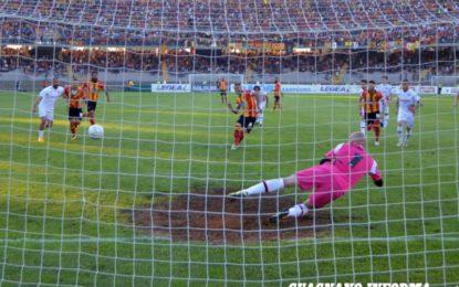 US Lecce, il primo round è del Foggia. Nella semifinale di andata dei playoff i giallorossi vengono superati di misura