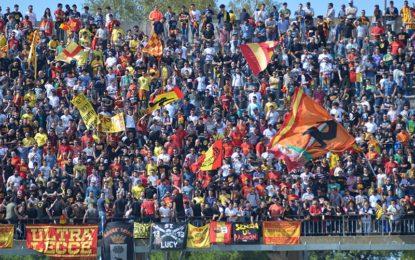 US Lecce, i giallorossi vincono con la Lupa Castelli e conquistano i playoff: domenica giocheranno in casa contro il Bassano
