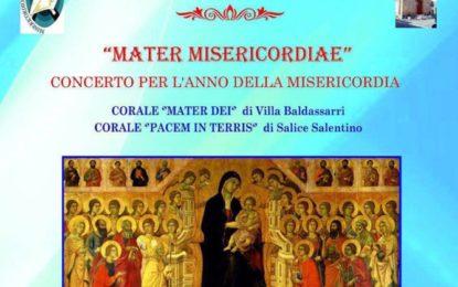 """Stasera nella Parrocchia S. Maria del Carmelo di Villa Baldassarri il concerto corale """"Mater Misericordiae"""""""