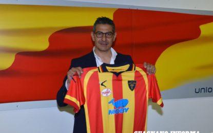 Presentazione del nuovo allenatore dell'US Lecce, Pasquale Padalino • Foto e Video