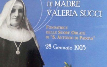 Il Carisma di Madre Valeria Succi
