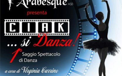 """""""Ciak… Si danza!"""", a Veglie il primo saggio spettacolo del """"Centro Danza Arabesque"""""""