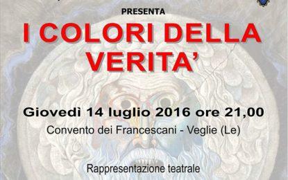"""""""Palmina – Amara Terra Mia"""", il 14 luglio a Veglie una rappresentazione teatrale sul disagio sociale ed il femminicidio"""