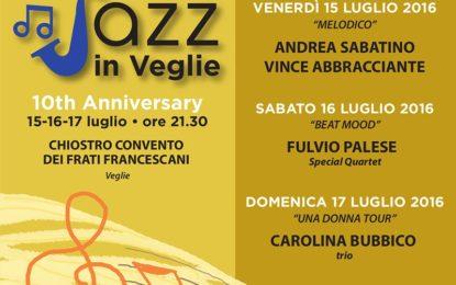 """Dal 15 al 17 luglio torna """"Jazz in Veglie"""", la rassegna dedicata alla musica jazz"""