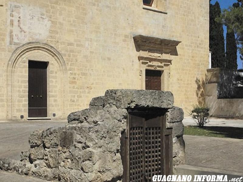 La Chiesa della Favana e l'ingresso alla cripta