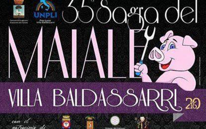 Al via la 35ª edizione della Sagra del Maiale di Villa Baldassarri. Il 2 settembre il taglio del nastro