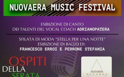 Nuovaera Music Festival, domani al Parco Santa Barbara brilleranno le stelle del Maestro Adriano Patera di Veglie