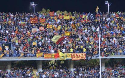 US Lecce, la Casertana ferma i giallorossi. Contro i campani la partita finisce a reti inviolate