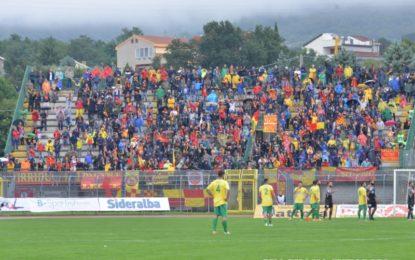 US Lecce, i giallorossi sbancano Melfi e rimangono a punteggio pieno