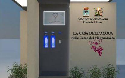 Indetta la gara per l'installazione delle Case dell'Acqua a Guagnano e Villa Baldassarri