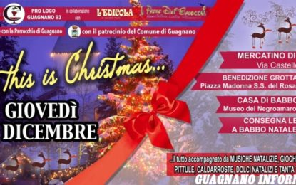 """So this is Christmas"": l'8 dicembre a Guagnano si accede la magia del Natale"