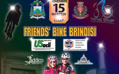 """Un ciclista salicese pedalerà fino a Roma con i """"Friends'Bike U.S. ACLI Brindisi"""" per la chiusura dell'Anno della Misericordia"""