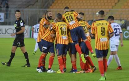 US Lecce, i giallorossi sconfiggono il Cosenza e si saldano in testa alla classifica