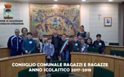 Ieri a Guagnano si è svolto il primo Consiglio Comunale dei Ragazzi del nuovo anno scolastico