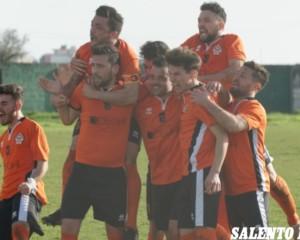 Deghi Calcio, gli arancioni conquistano il campo di Copertino per 1 a 0