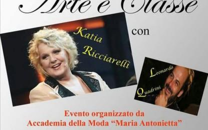 """Il """"Gran Galà di Arte e Classe"""" con Katia Ricciarelli e Leonardo Quadrini fa tappa a Campi Salentina"""