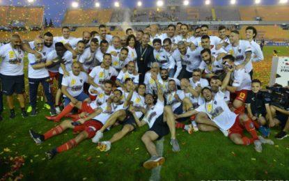 US Lecce, la Supercoppa di Lega Pro va al Padova ma è festa per la Serie B